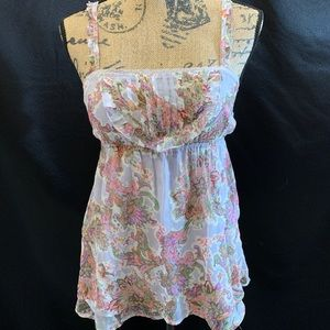 🆕 Wet seal Tank Top Small Floral